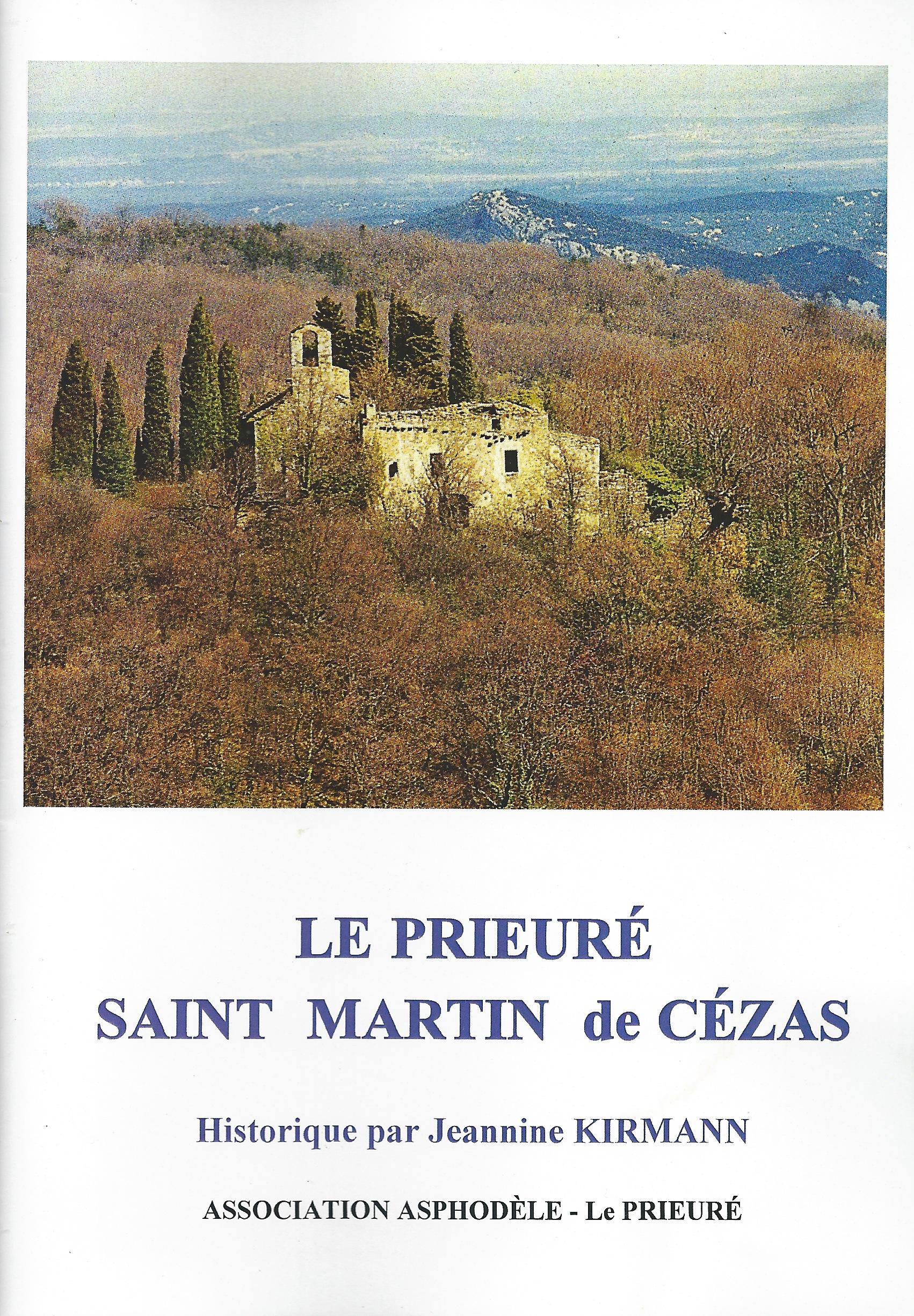 Historique du prieuré de Cézas