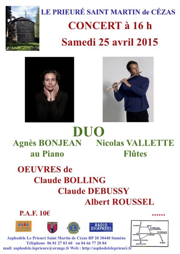 Concert DUO 25 04 15